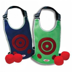 Dodge Tag Air Mesh Vest - Ultimate 2-player Dodge Ball Game