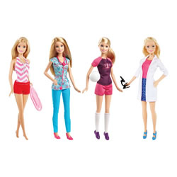 Barbie® Career Doll Assortment - Caucasian (1 Doll)