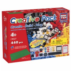 Brictek® Building Bricks Creative Pack (440 pieces)