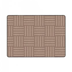 Hashtag Tone on Tone Rug - Almond