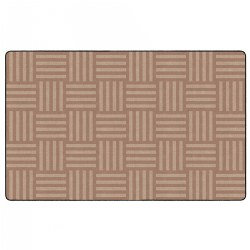 "Hashtag Tone on Tone Rug 7'6"" x 12' - Almond"