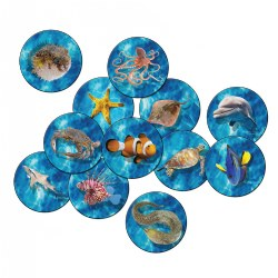 Photo-Fun Stow N' Go Into the Sea Rounds (Set of 12)