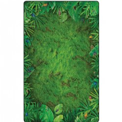 Photo-Fun Rainforest Frogs Rug