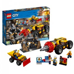 LEGO® City Mining Heavy Driller - 60186