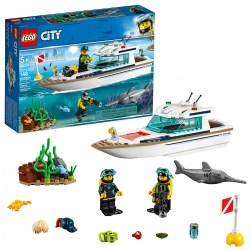 LEGO® City Diving Yacht (60221)