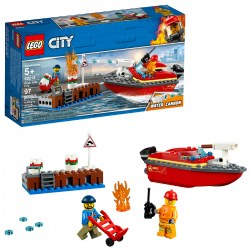 LEGO® City Dock Side Fire - 60213