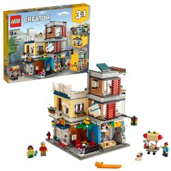 LEGO® Creator Townhouse Pet Shop & Cafe - 31097