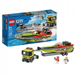 LEGO® City Race Boat Transporter - 60254