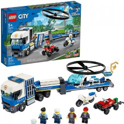 LEGO® City Police Helicopter Transport - 60244
