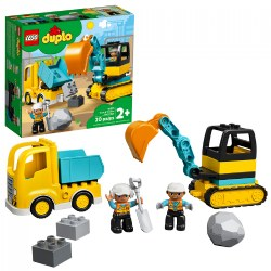 LEGO® DUPLO® Town Truck & Tracked Excavator - 10931