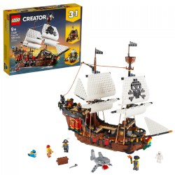 LEGO® Creator 3-in-1 Pirate Ship - 31109
