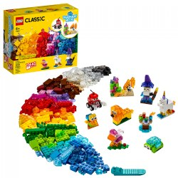 LEGO® Classic Creative Transparent Bricks - Mixed with Solid Bricks - 11013
