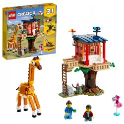 LEGO® Creator 3in1 Safari Wildlife Tree House - 31116