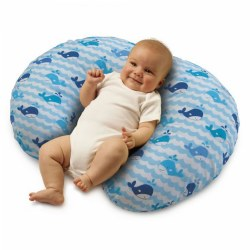 Boppy® Pillow - Whale Watch Blue