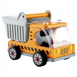 Playscapes Wooden Construction Toy Dump Truck