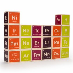 Uncle Goose® Periodic Table Block Set (20 Pieces)