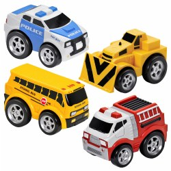 Kid Galaxy Pull-Back Vehicles