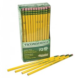 Ticonderoga® #2 HB Pencils - 72 Count