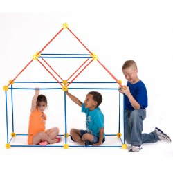 EZ-Fort Building Set - 108 Pieces