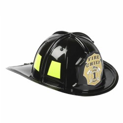 Aeromax Jr. Firefighter Helmet - Black