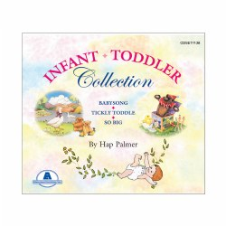 Hap Palmer Infant/Toddler CD Set (Set of 3)