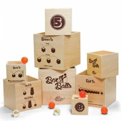 Box & Balls - Bouncing, Stacking and Nesting Game