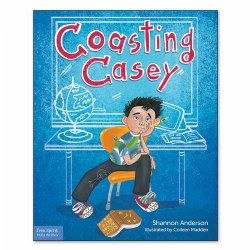 Coasting Casey: A Tale of Busting Boredom in School - Paperback