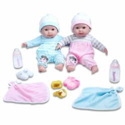 "15"" Berenguer Boutique® Twins Doll Set"