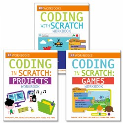 Coding With Scratch Workbook Set (Set of 3) - Paperback