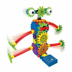 Techno Gears Wacky Robot Construction Kit (80 Pieces)