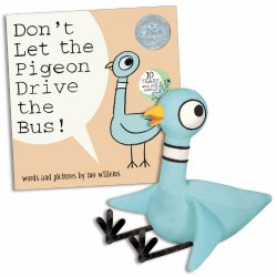 Don't Let The Pigeon Drive The Bus (Hardcover) & Pigeon Plush With Voice