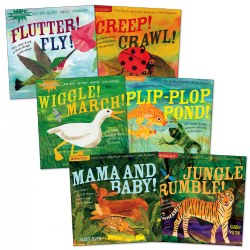 Indestructibles® Wordless Animal Book Set - Set of 6