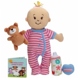 "Wee Baby Stella™ Sleepy Time Scents™ Set - 12"" Caucasian Doll"