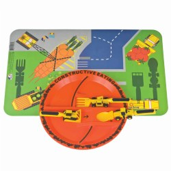 Construction Eating Place Setting