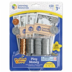 Pretend & Play® Money - 150 Pieces