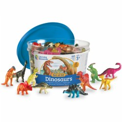 Dinosaur Counters Set - Set of 60