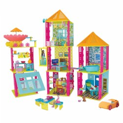 Roominate® Alice's Mansion STEM Kit (230+ Pieces)