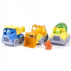Construction Trucks Set - Set of 3