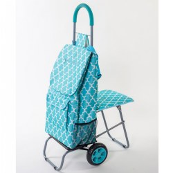 The 2-in-1 Trolley Dolly with Seat - Moroccan
