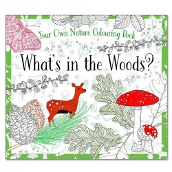 What's in the Woods? - Coloring Book
