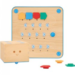 Primo™ Cubetto Children's Programmable Robot Playset (20 Pieces)