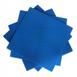 10 x 10 Baseplates - Blue (4 Pack)
