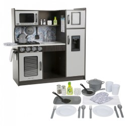 Chef's Play Kitchen & Accessories - Charcoal