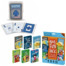 Hoyle Waterproof Cards & Classic Card Game Set