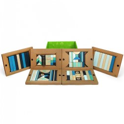Tegu Magnetic Wooden Blocks Future-Themed Classroom Kit