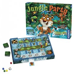Jungle Party Memory Game