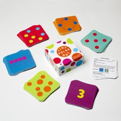 Tiny Polka Dot Math Literacy Game