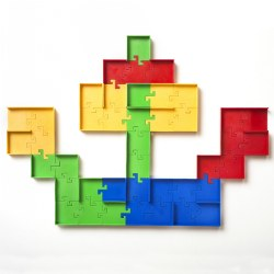 3 years & up. Put your imagination to the test with Maze-O™! Follow the activity cards and use the various ramps, turns, and branches to build a tricky maze that will be difficult solve or have fun coming up with your own crazy design. Maze-O™ helps develop visual motor, spatial reasoning, problem solving, strategy, and STEM skills. Includes: 16 Straight paths, 16 Turning points, 8 Branches, 8 Dead-ends, 4 Entrances/exits, and 30 Mazes on 15 double-sided challenge cards
