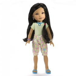 "Hearts for Hearts 14"" Doll - Tipi"