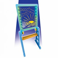 Mindscope XL LED Light-up Drawing Board & Easel